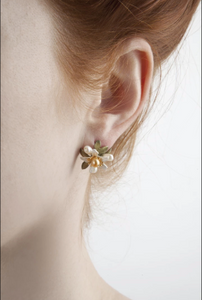 Michael Michaud Orange Blossom Studs
