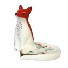 Load image into Gallery viewer, House of Disaster Scret Garden Fox Trinket Dish