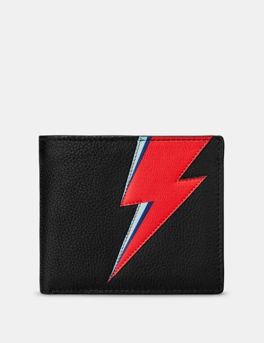 Yoshi Lightning Bolt Slim Leather Wallet
