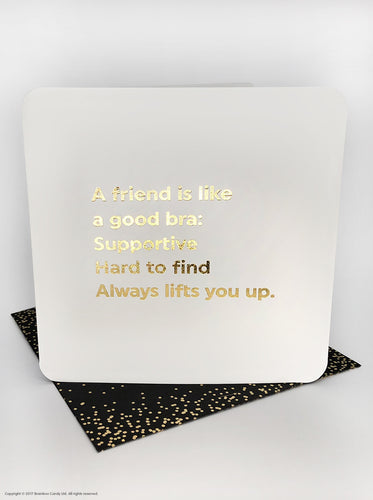 Quotish A friend Is Like Card