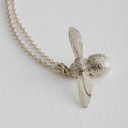 Alex Monroe Silver Baby Bumblebee Necklace