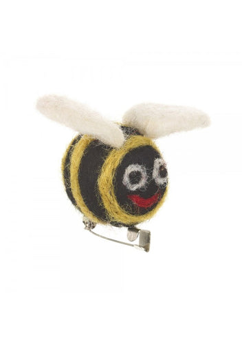 Felt So Good Bee Brooch