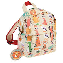Load image into Gallery viewer, Rex London Colourful Creatures Kids Backpack