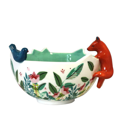 House of Disaster Secret Garden Fox Bowl