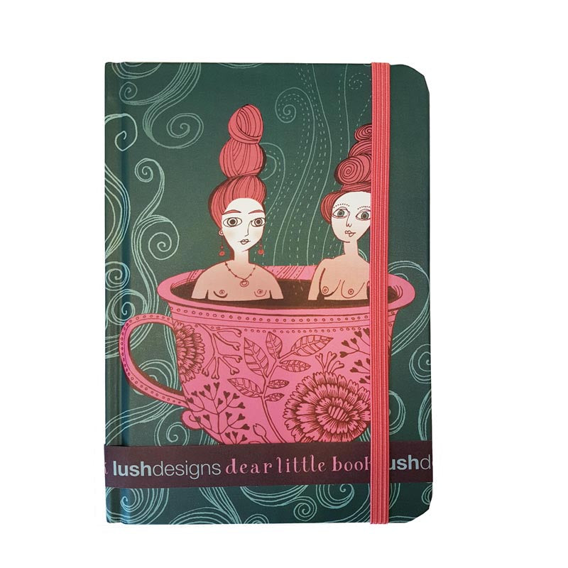 Lush Designs Teacup Ladies Notebook