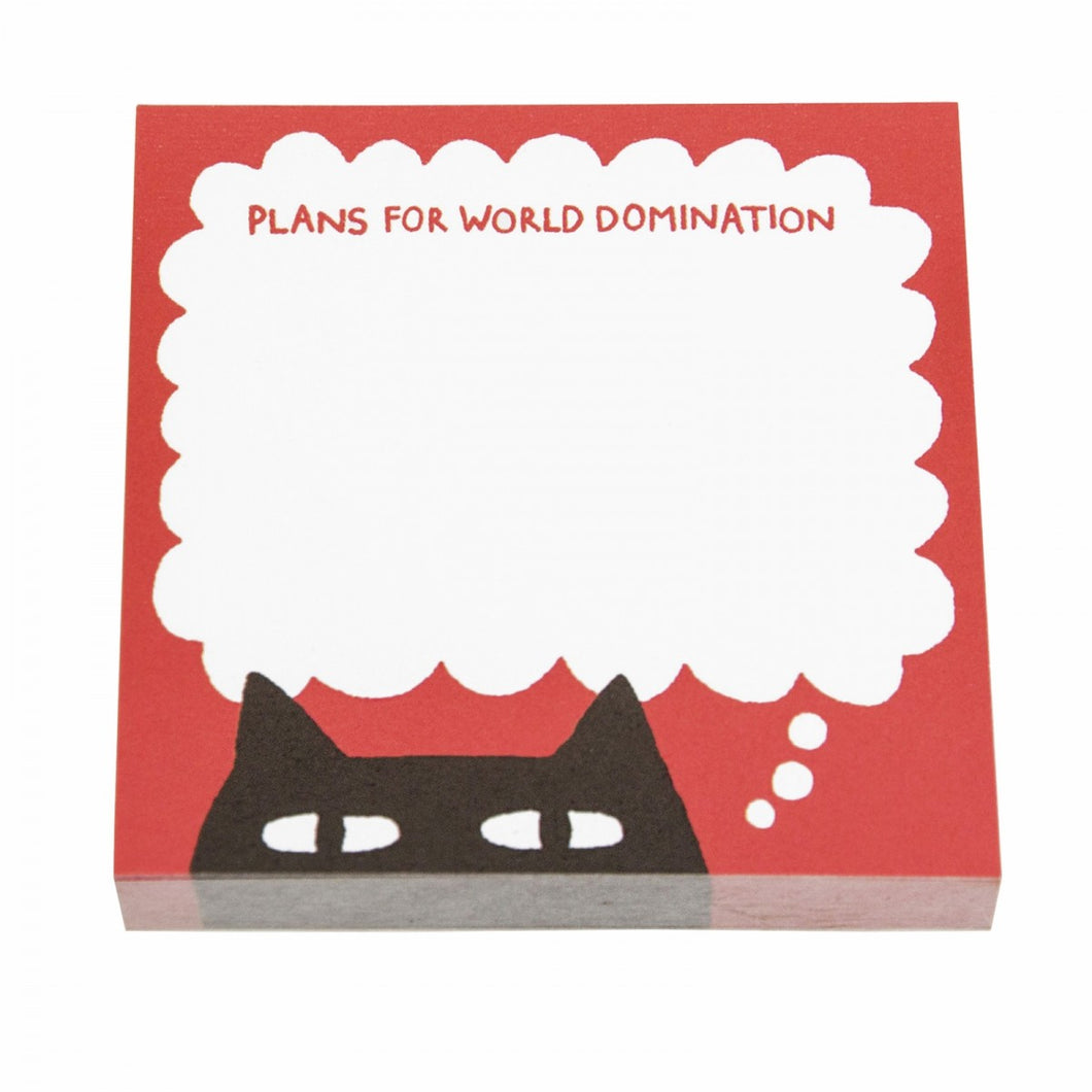 Gemma Correll Sneaky Cat Sticky Note