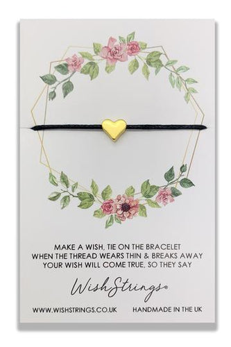 Wish Strings Geometric Floral Circle