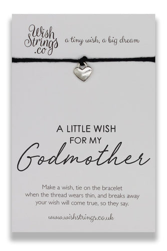 Wish Strings Little Wish For God Mother