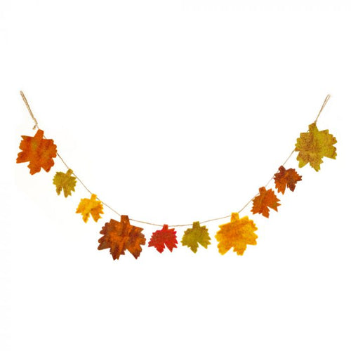 Felt So Good Autumnal Leaves Garland
