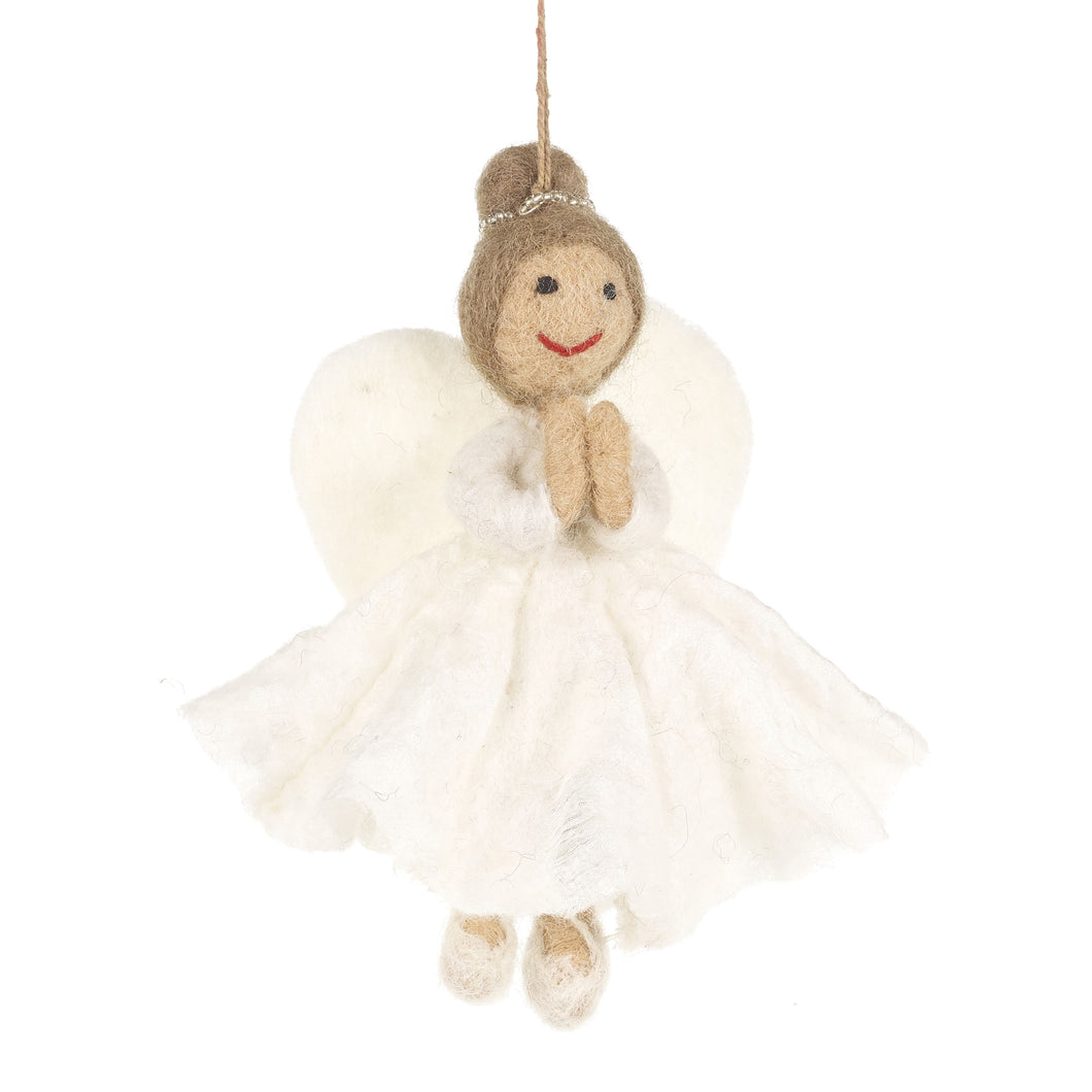 Felt So Good Christmas Angel Decoration