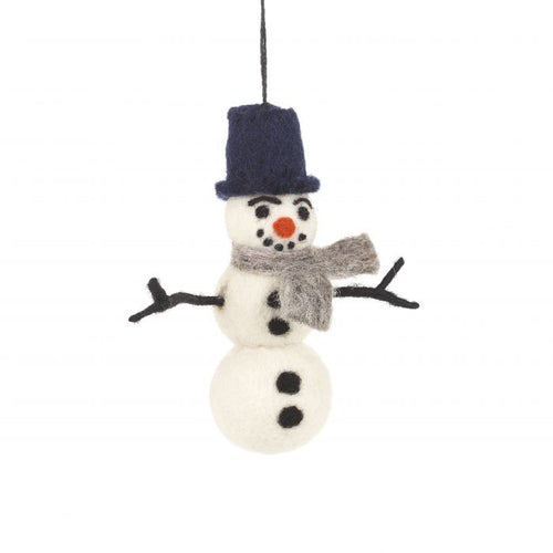 Felt So Good William The Snowman Hanging Decoration