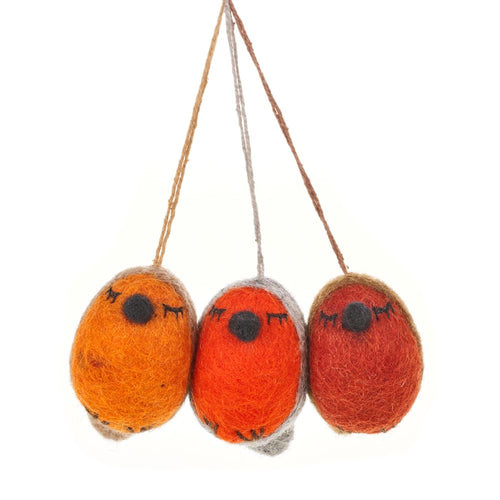 Felt So Good Whimsical Robin Hanging Decoration