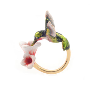 Bill Skinner Hummingbird Ring