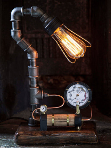 AJ Metal & Light Large Boiler Industrial Lamp