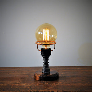 AJ Metal& Light Small Industrial Lamp