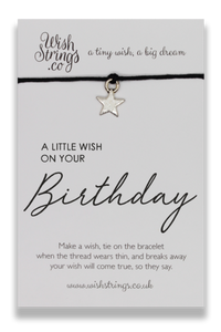 Wish Strings Little Wish For Birthday