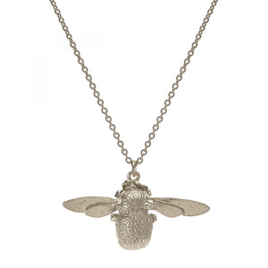 Alex Monroe Silver Bumblebee Necklace