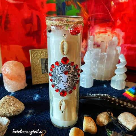 Capricorn Altar Candle