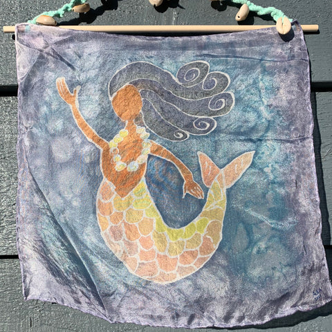 Mermaid on Silk #1