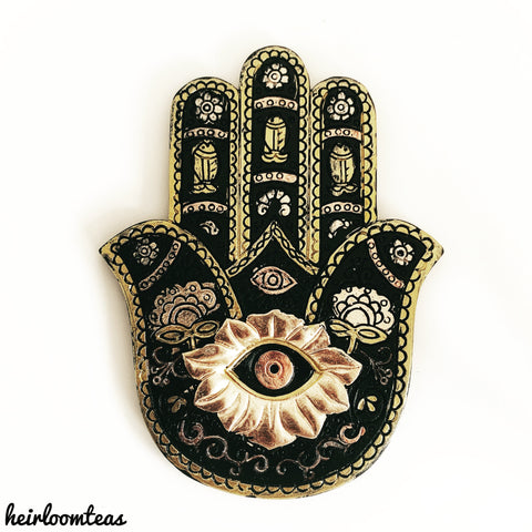 Hand of Fatima Incense Holder