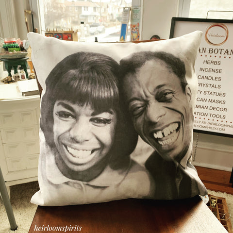 Nina and James Pillow