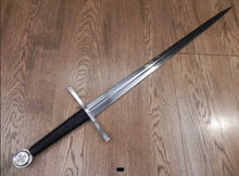 Load image into Gallery viewer, Crusader Sword, Medieval Knight Sword by Kawashima