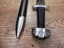 Load image into Gallery viewer, Five Lobed Viking Sword by Kawashima Sword