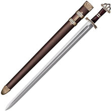 "Load image into Gallery viewer, Cold Steel 88HVB Damascus Viking Sword 30"" Damascus Blade"