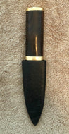 Scottish Sgian Dubh, Flat Back Handle, Proto-type, only 1 Available