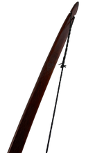 "Load image into Gallery viewer, Bamboo Backed Hickory Longbow 72"" - Medieval Hunting Longbow"