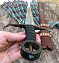 Load image into Gallery viewer, Kern Irish Sword, Irish Single Hand Ring Hilt Sword by Kingdom of Arms