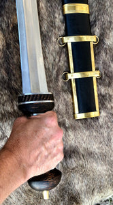 Gladius Hispaniensis Sword, Roman Mainz Gladius, Kingdom of Arms