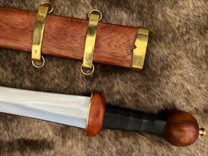 Augustus Mainz Gladius Sword, Hand Forged, Full Tang, Battle Ready