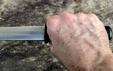 Load image into Gallery viewer, 10th Century Viking Seaxe Knife Hand Forged Blade by Kingdom of Arms