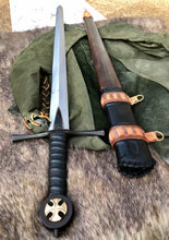 Load image into Gallery viewer, Crusader War Sword, Handmade Crusader Medieval Sword by Kingdom of Arms (Coming Soon)