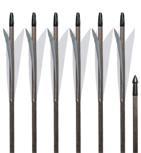 Medieval Arrows - 6 Pack