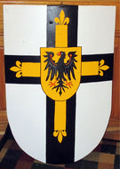 Teutonic Medieval Heater Shield 22