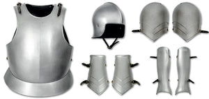 Knight Errant Suit of Armour by Red Dragon Armoury