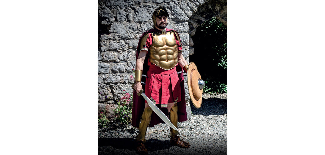 Bronze Greek Hoplite Suit of Armor by Red Dragon Armoury
