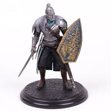 Load image into Gallery viewer, Dark Souls Black Knight Warrior Statues on wood base