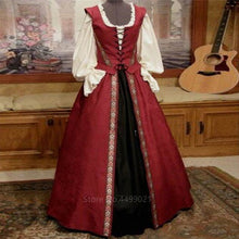 Load image into Gallery viewer, Medieval and Renaissance Gown, Victoria Palace Dress Halloween Carnival Party Costumes for Women Adult Costumes