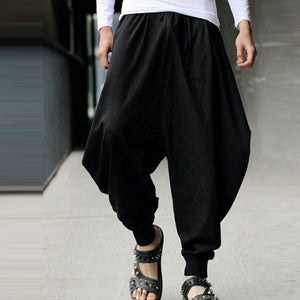 Medieval Renaissance Pirate Loose Pants Pirate Horseman Viking Cosplay Costume Adult Hip Hop Wide Leg Trousers Leisure Pants