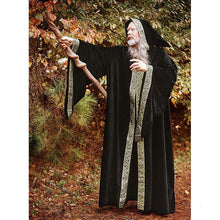 Load image into Gallery viewer, Middle Ages Wizard Cosplay Costumes for Adult Men Halloween Carnival Monk Vintage Medieval Stage Performance Long Robes
