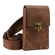 Load image into Gallery viewer, Medieval Renaissance Adult Male Knight Leather Vintage Pocket Belt Clothing Bag