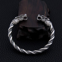 Load image into Gallery viewer, Stainless steel Dragon Bracelet, Viking Jewelry, Men's Bracelet