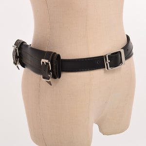Men Vintage Medieval Knight Copslay PU Waist Belt