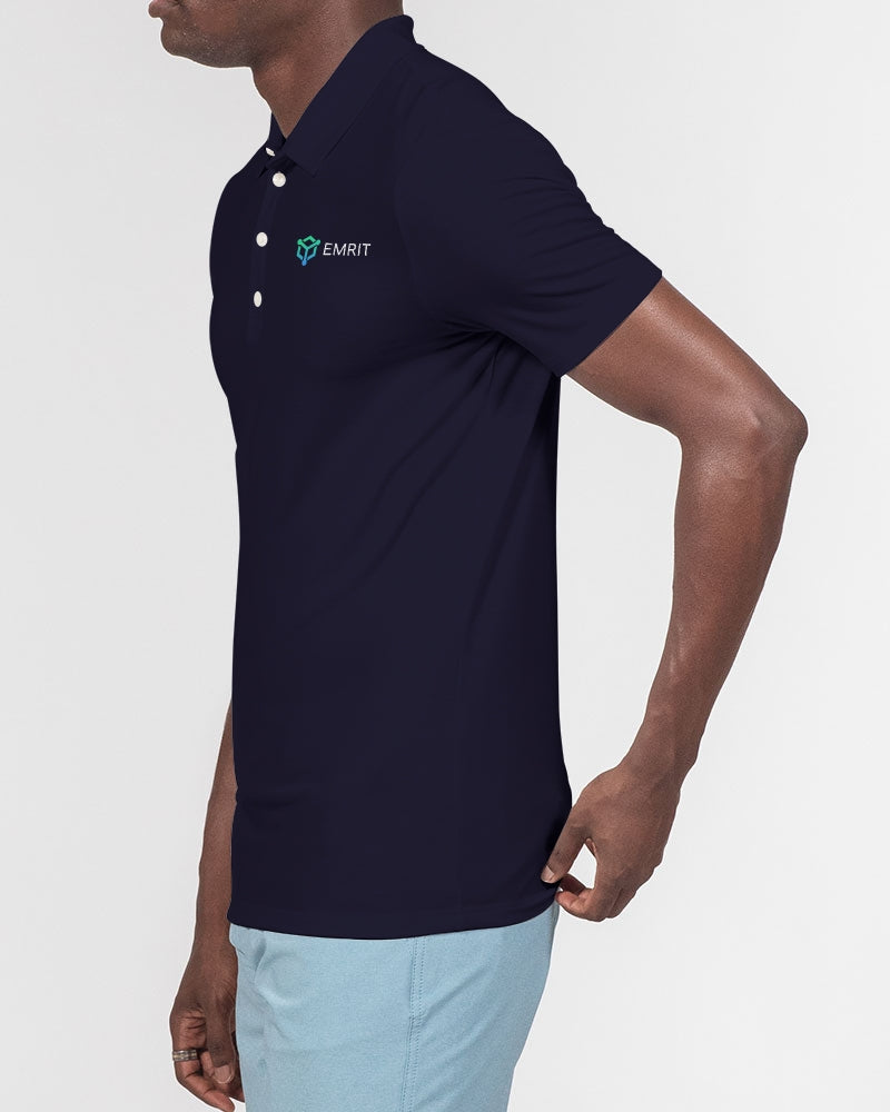Emrit Slim Fit Short Sleeve Polo