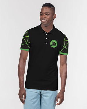 Future Self Men's Slim Fit Short Sleeve Polo