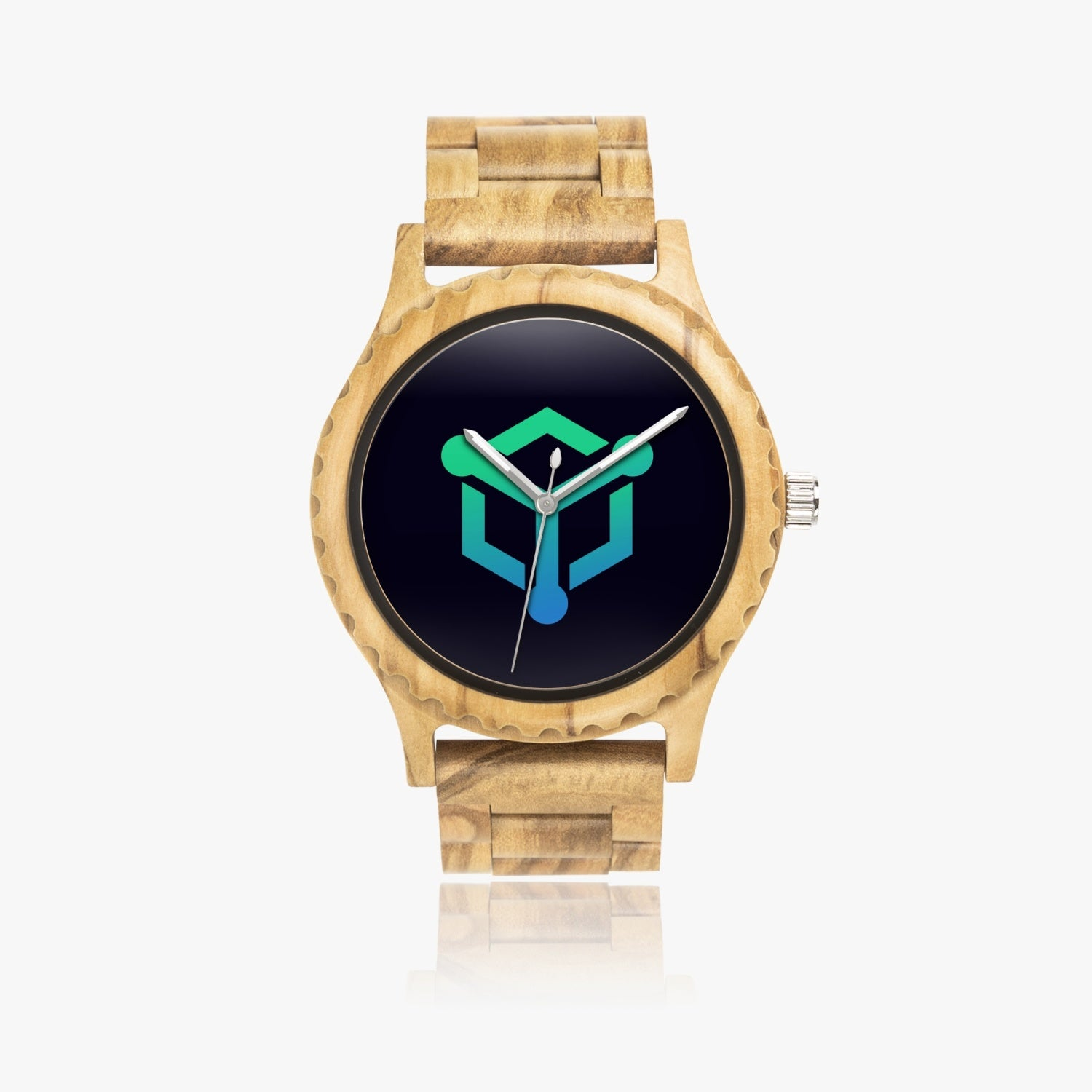 EMRIT Italian Olive Lumber Wooden Watch