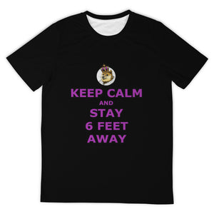 DogeLord Keep Calm T-Shirt (DogeLord Royal Purple Font)